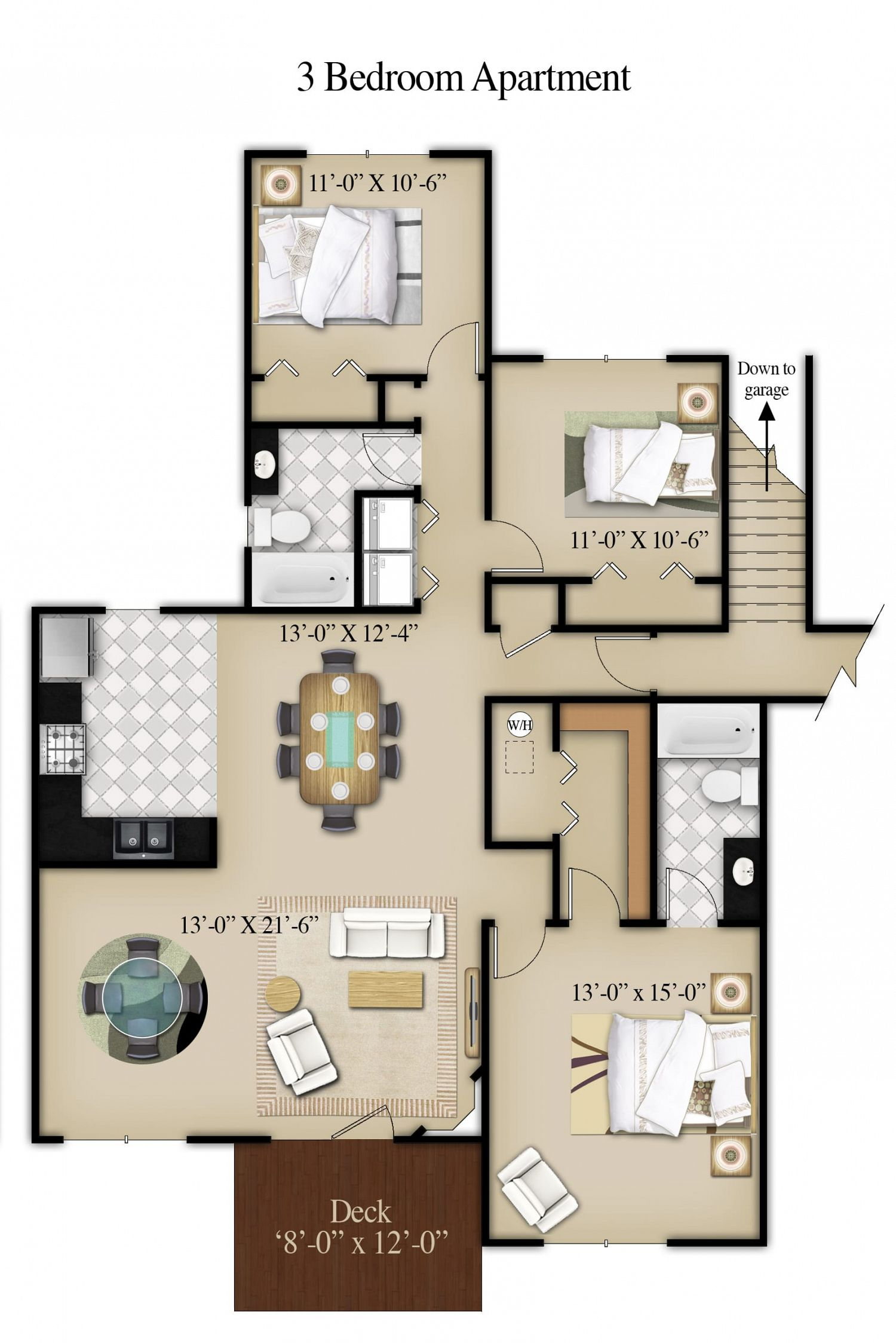 Two Bedroom Apartments Morgantown Wv